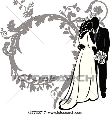 Wedding Invitation Clip Art K27720717 Fotosearch