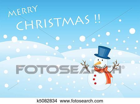 weihnachtsgr e karte clipart k5082834 fotosearch. Black Bedroom Furniture Sets. Home Design Ideas