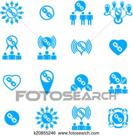 clip art of teamwork and business cooperation theme creative vector