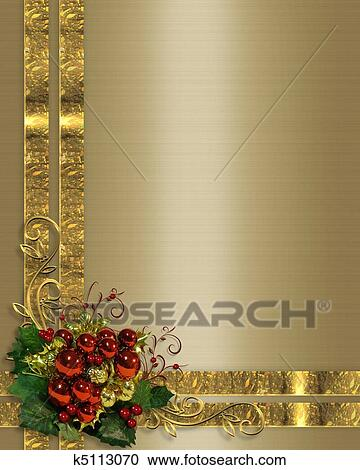 Christmas Background Images Gold.Christmas Background Gold Ribbons Clipart