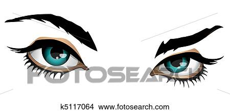 drawings of magic eyes k5117064 search clip art illustrations