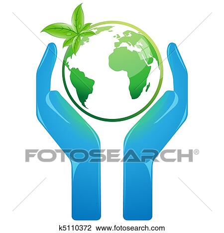 Save Earth Clipart K5110372 Fotosearch