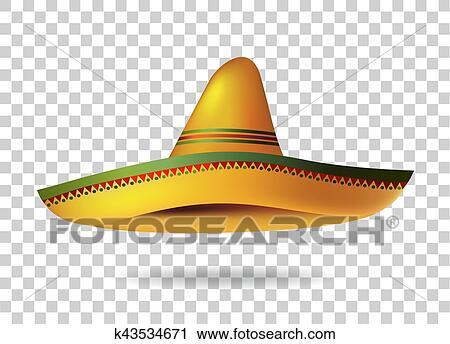 acbb8e988 Mexican, sombrero, klobúk, priezračný, background., mexico., riadiť, ukážka