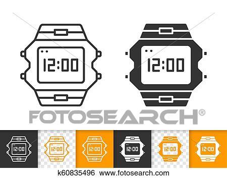 d5ad71c70751 Clip Art - reloj de pulsera