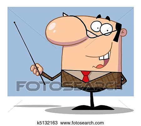 Vector Art - Outlined business manager. Clipart Drawing gg64235670 - GoGraph