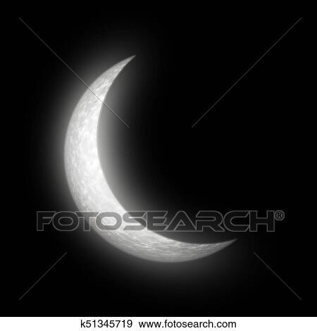 Resume Croissant De Lune Banque D Illustrations K51345719