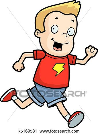 clipart of boy running k5169581 search clip art illustration rh fotosearch com boy running fast clipart boy running fast clipart