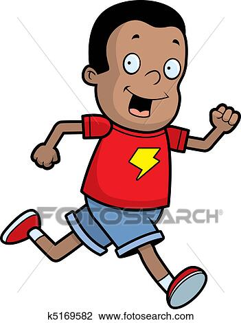 clipart of boy running k5169582 search clip art illustration rh fotosearch com boy running fast clipart boy running clipart black and white