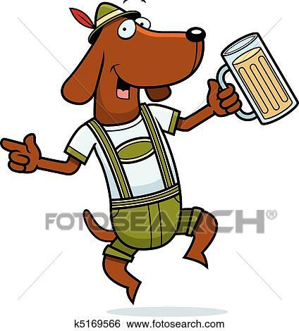 clip art of german dog k5169566 search clipart illustration rh fotosearch com german clip art free german clip art free