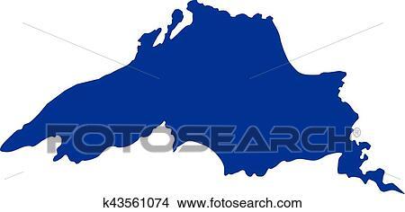 clipart of lake superior silhouette k43561074 search clip art rh fotosearch com lake clipart public domain lake clipart free