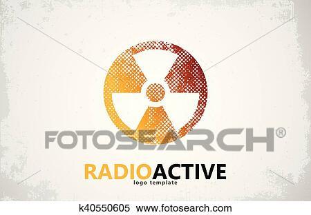 Clipart Of Nuclear Logo Radioactive Logo Design Radiation Symbol