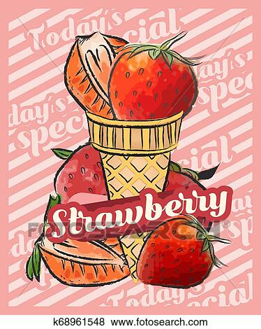 Ripe Cream Strawberry Illustration, Strawberry, Sweet Strawberry, Cut  Strawberry PNG Transparent Clipart Image and PSD File for Free Download