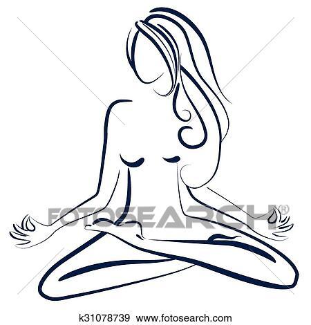 Zen Attitude Clip Art K31078739 Fotosearch