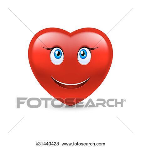 Sourire Coeur Clipart K31440428 Fotosearch