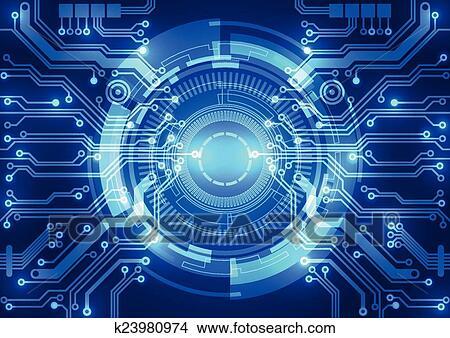 clipart r sum vecteur arri re plan futuriste technologie style k23980974 recherchez. Black Bedroom Furniture Sets. Home Design Ideas