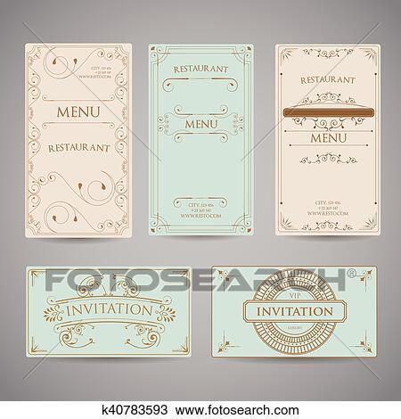 Menu Border Designs - ClipArt Best