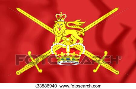 Stock Photography Of Flag Of British Army K33886940 Search Stock