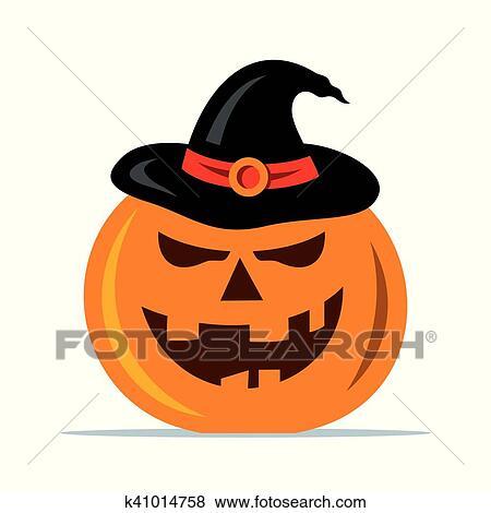 Zucche Di Halloween Cartoni Animati.Vettore Halloween Zucca Cartone Animato Illustration Clip Art