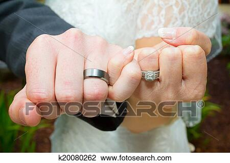 Stock Photo Of Pinky Swear Wedding Ring Hands K20080262 Search