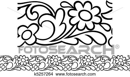 Primitive Flower Daisy Or Sunflower Flower, Outline Drawing,.. Royalty Free  Cliparts, Vectors, And Stock Illustration. Image 141459821.