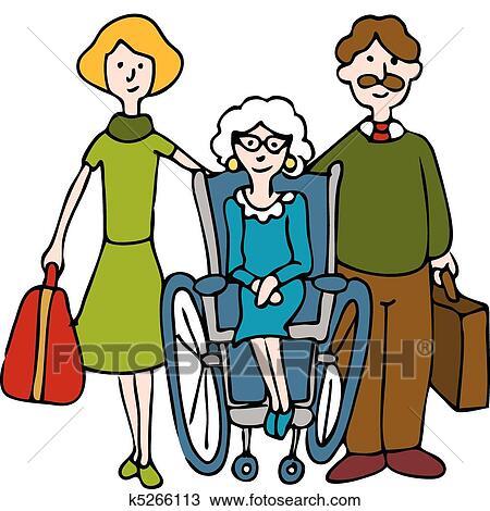clipart of moving senior to nursing home k5266113 search clip art rh fotosearch com nursing home clip art photos nursing home clip art photos