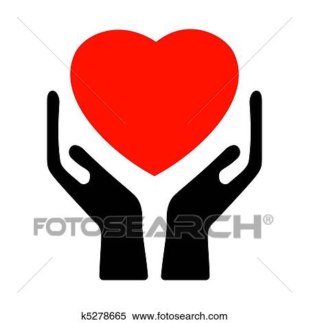 clipart of hands holding the heart eps 8 k5278665 search clip art rh fotosearch com eps clip art library classic edition eps clip art + for sale