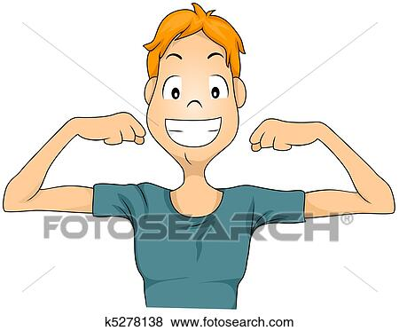 Stock Illustration Of Healthy Man K5278138 Search Eps Clip Art