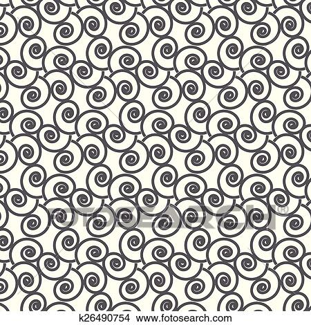 clipart of seamless vector swirl wave japanese pattern background rh fotosearch com Wave Border Clip Art Cartoon Waves Clip Art
