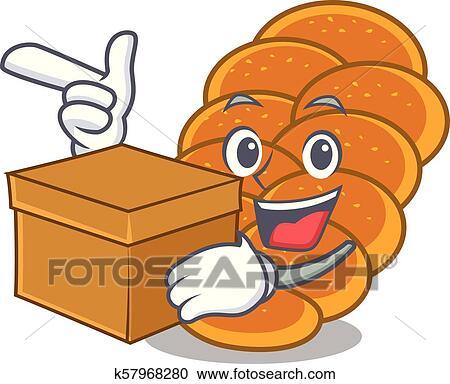 bread challah food bun baked goods clipart - Bread, Challah, Food,  transparent clip art