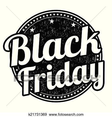 clip art of black friday stamp k21731369 search clipart rh fotosearch com good friday clip art black and white black friday clip art free bogo 1/2 off