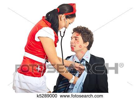 Examination fetish nurse, my different interracial clips