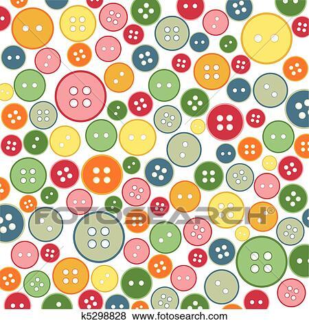 Clip Art - seamless, nähen, tasten, muster k5298828 - Suche Clipart ...