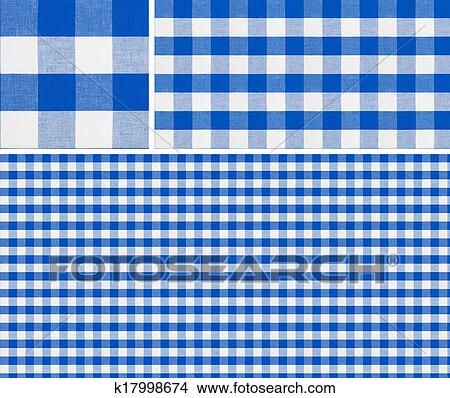 Seamless Picnic Table Cloth Pattern 1500x1500 With Samples. Good For Blue Checkered  Tablecloth Creation Of Any Size.