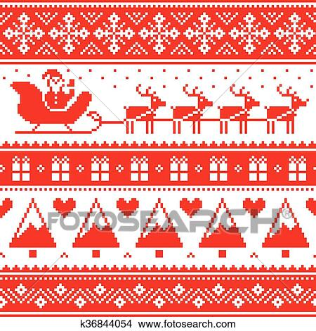 clipart christmas jumper or sweater pattern fotosearch search clip art illustration murals