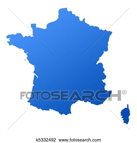 Map Of France Drawing.France Map Drawing