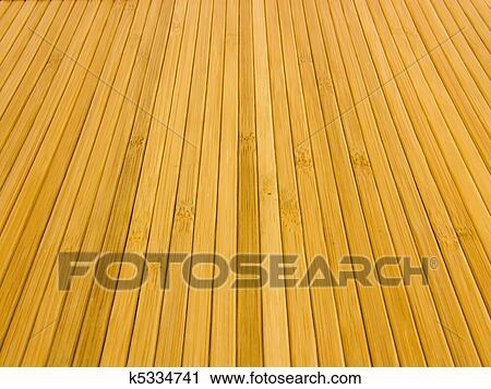 Stock Fotografie Hintergrund Struktur Von Bambus Matten