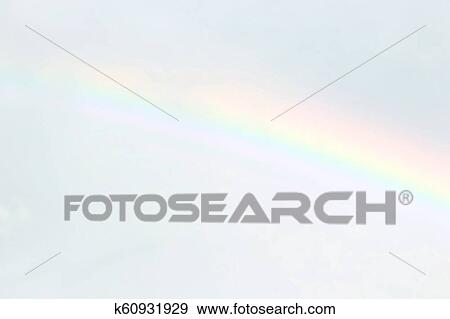 blurred sky and rainbow soft blurred stock photo  k60931929
