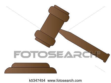 Dessins marteau marteau de juge ou commissaire - Dessin de marteau ...