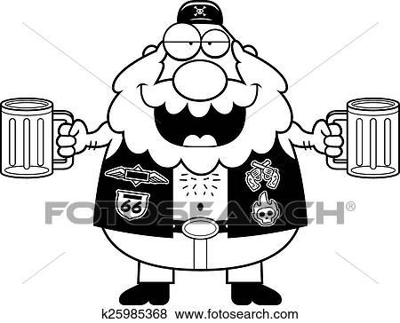 Dessin De Motard clipart - ivre, dessin animé, motard k25985368 - recherchez des