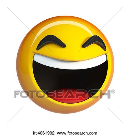Lol Emoji Rire Figure Emoticon Dessin