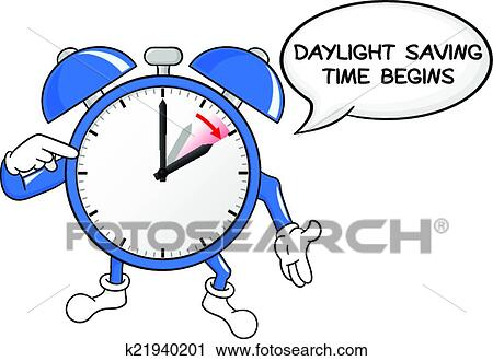 clipart of alarm clock change to daylight saving time k21940201 rh fotosearch com time change 2018 clipart time change clipart 2017