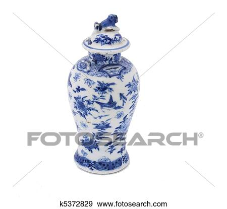 Stock Photograph Of Antique Chinese Vase K5372829 Search Stock