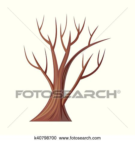 clipart of bare tree without leaves oak vector k40798700 search rh fotosearch com tree without leaves clipart black and white free tree without leaves clipart