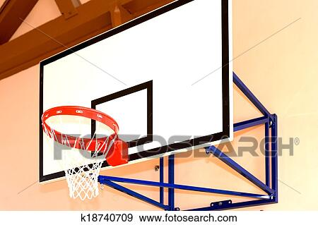 Stock Photograph Of Basketball Board K18740709 Search Stock
