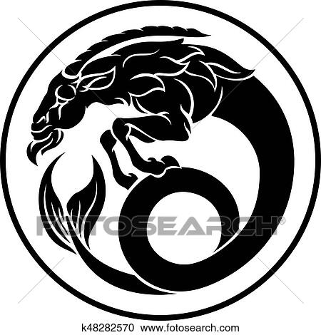 Clipart Of Capricorn Zodiac Horoscope Sign K48282570 Search Clip