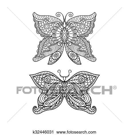 Nett Druckbare Schmetterling Färbung Seite Zeitgenössisch ...