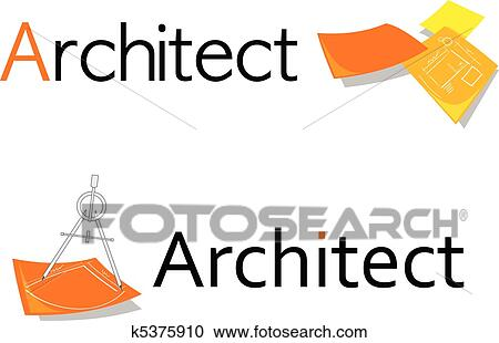 Clipart Of Symbol For Architect K5375910 Search Clip Art