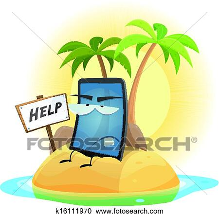 clipart of mobile phone technology shipwreck k16111970 search clip rh fotosearch com Animated Shipwreck shipwrecked clip art and resources
