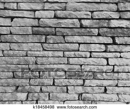 Clipart Monochrome Mur Pierre K18458498 Recherchez Des Cliparts