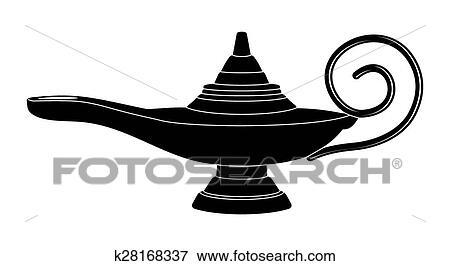 Aladdin Lampe Magique Clipart
